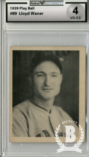 1939 Play Ball #89 Lloyd Waner