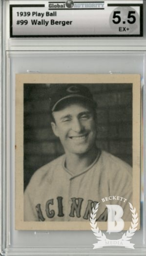 1939 Play Ball #99 Wally Berger
