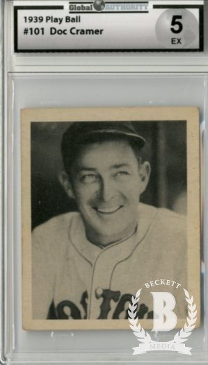 1939 Play Ball #101 Roger Cramer