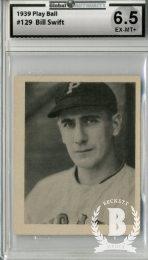 1939 Play Ball #129 Bill Swift