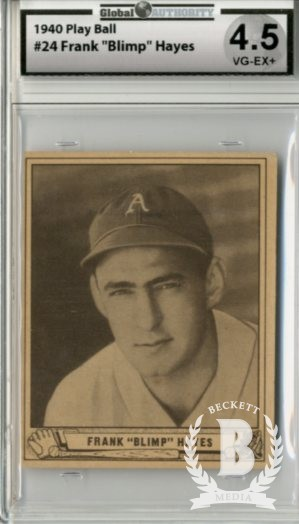 1940 Play Ball #24 Frank Hayes