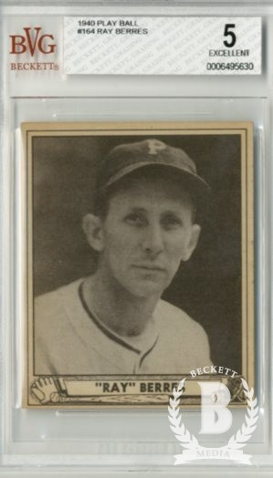 1940 Play Ball #164 Ray Berres