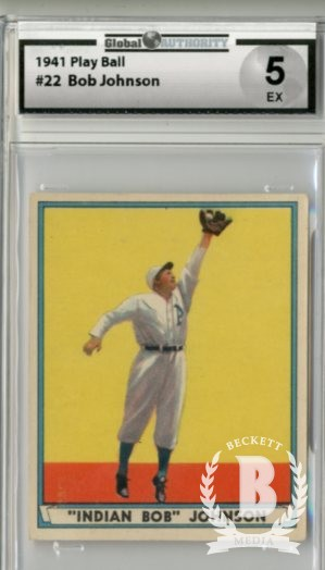 1941 Play Ball #22 Bob Johnson