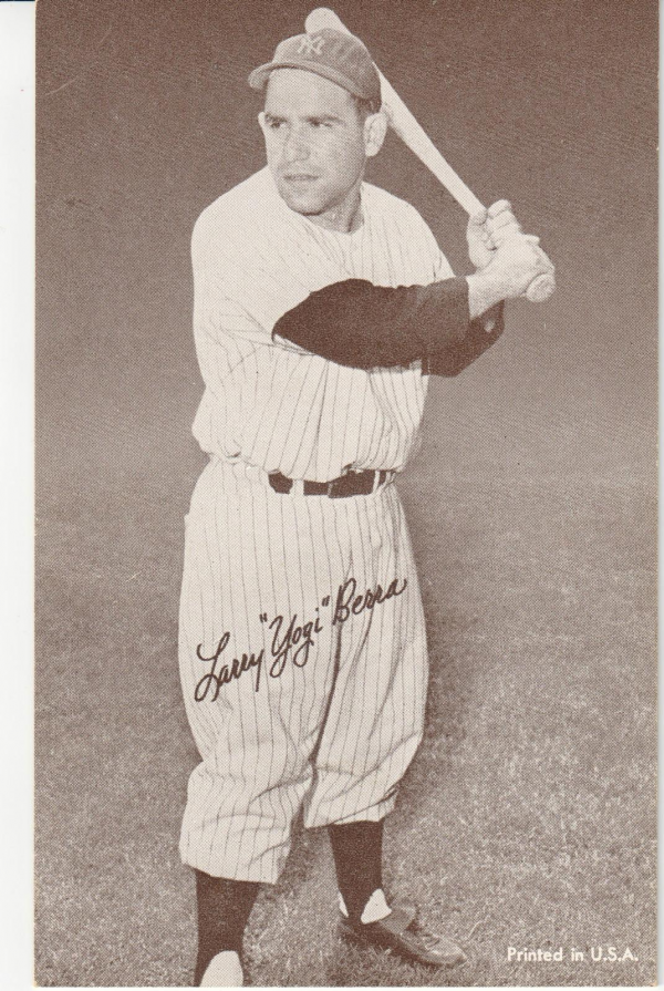 1947-66 Exhibits #20B Larry Yogi Berra/64/66