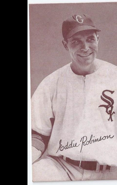 1947-66 Exhibits #190 Eddie Robinson POR