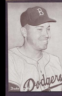 1947-66 Exhibits #213A Duke Snider/(Brooklyn)
