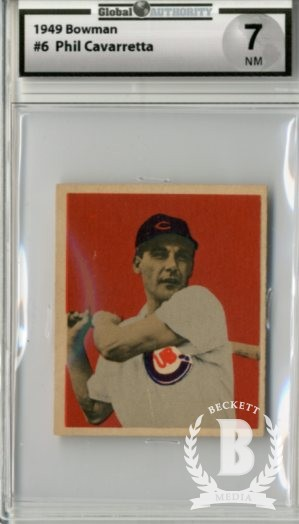 1949 Bowman #6 Phil Cavarretta RC