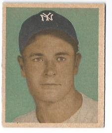 1949 Bowman #82 Joe Page