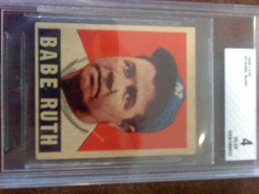 1949 Leaf #3 Babe Ruth