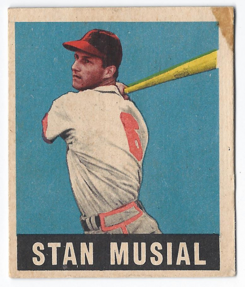 1949 Leaf #4 Stan Musial