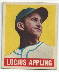 1949 Leaf #59 Luke Appling front image