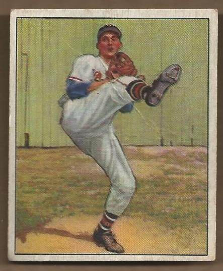 1950 Bowman #19 Warren Spahn