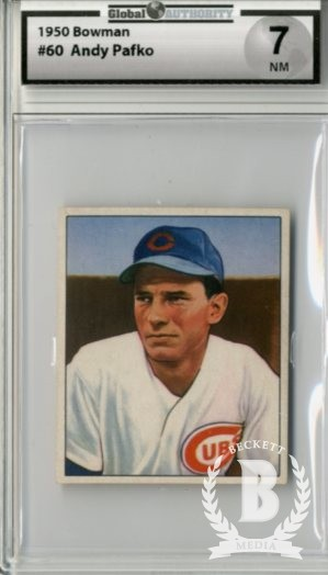 1950 Bowman #60 Andy Pafko