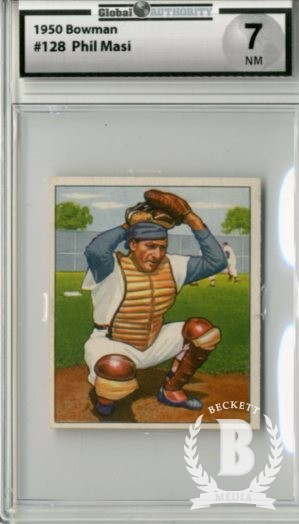 1950 Bowman #128 Phil Masi
