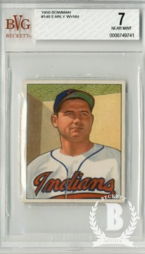 1950 Bowman #148 Early Wynn