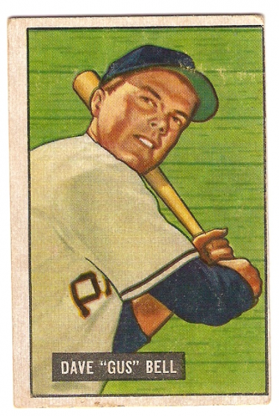 1951 Bowman #40 Gus Bell RC