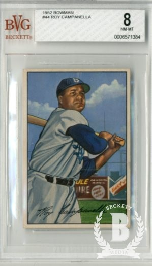 1952 Bowman #44 Roy Campanella