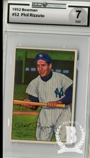 1952 Bowman #52 Phil Rizzuto