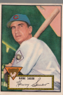 1952 Topps #35 Hank Sauer