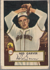 1952 Topps #212 Ned Garver front image