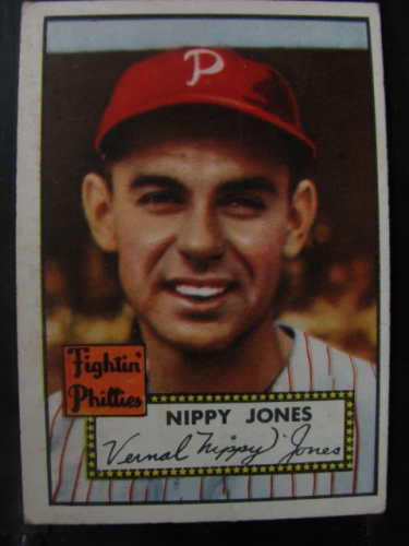 1952 Topps #213 Nippy Jones