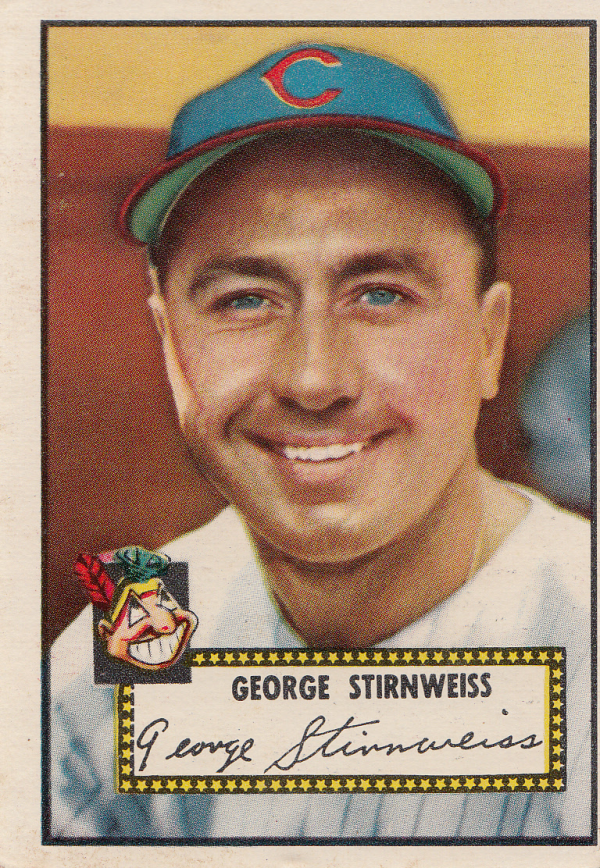1952 Topps #217 Snuffy Stirnweiss