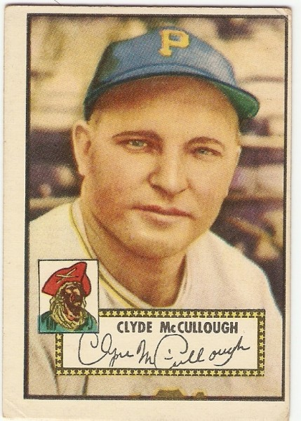 1952 Topps #218 Clyde McCullough