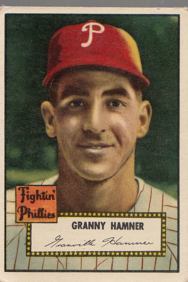 1952 Topps #221 Granny Hamner