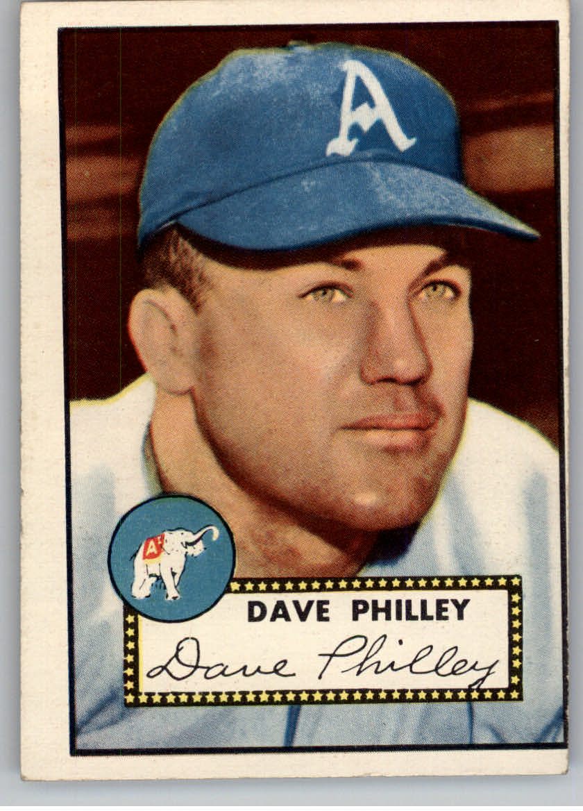 1952 Topps #226 Dave Philley