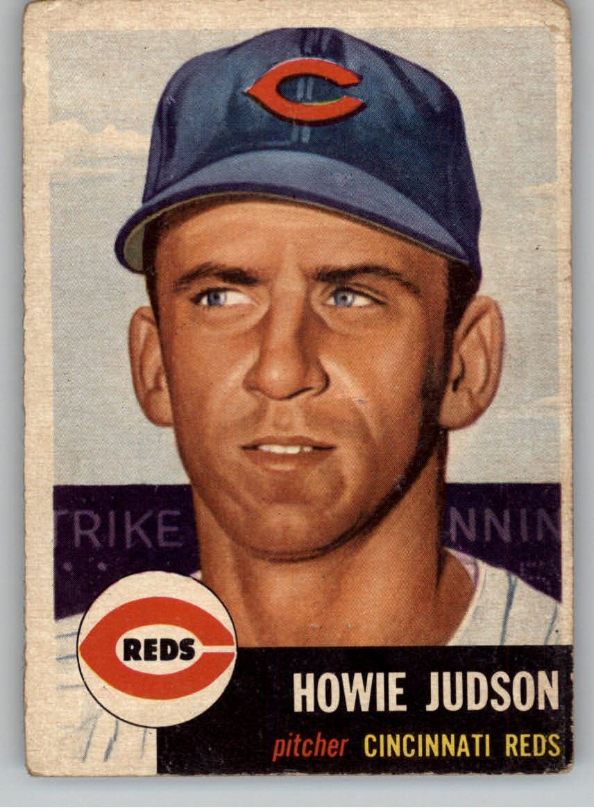 1953 Topps #12 Howie Judson DP