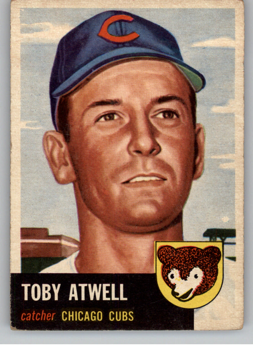 1953 Topps #23 Toby Atwell DP