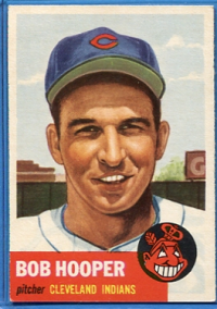 1953 Topps #84 Bob Hooper DP front image