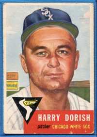 1953 Topps #145 Harry Dorish DP front image
