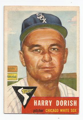 1953 Topps #145 Harry Dorish DP
