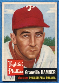 1953 Topps #146 Granny Hamner front image