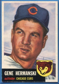 1953 Topps #179 Gene Hermanski front image