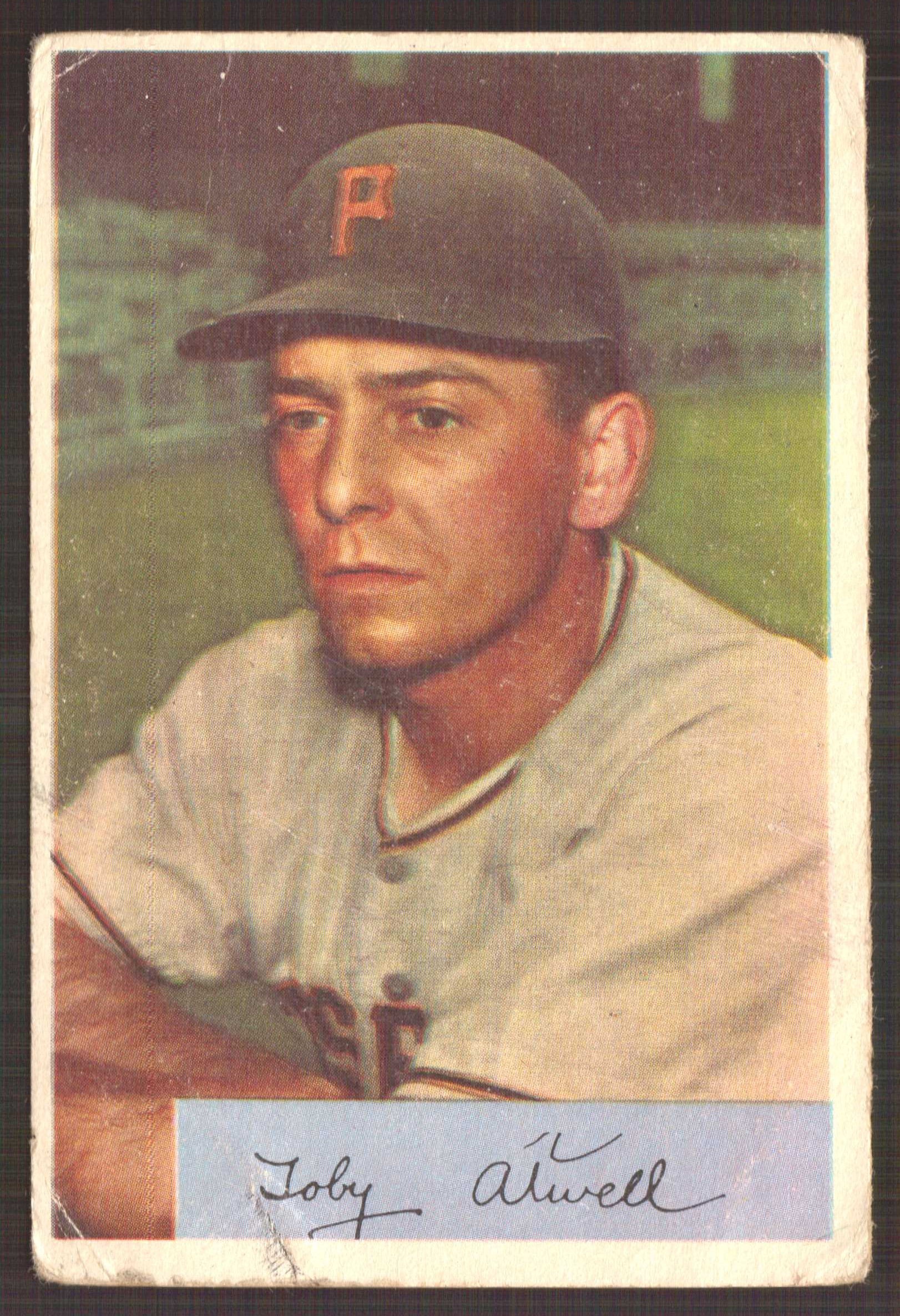 1954 Bowman #123 Toby Atwell