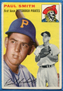 1954 Topps #11 Paul Leslie Smith RC
