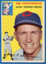 1954 Topps #22 Jim Greengrass
