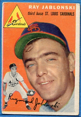 1954 Topps #26 Ray Jablonski