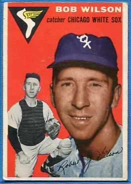 1954 Topps #58 Bob Wilson
