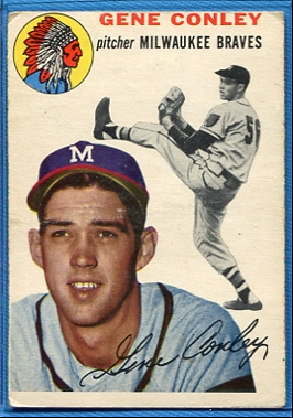 1954 Topps #59 Gene Conley
