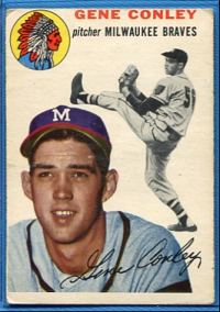 1954 Topps #59 Gene Conley front image