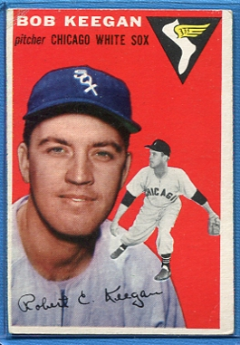 1954 Topps #100 Bob Keegan