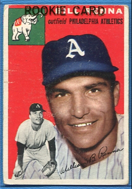 1954 Topps #112 Bill Renna RC