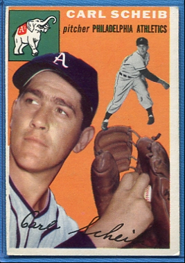 1954 Topps #118 Carl Scheib
