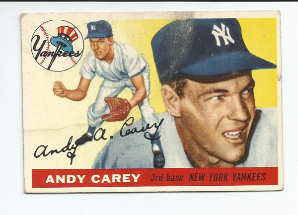 1955 Topps #20 Andy Carey