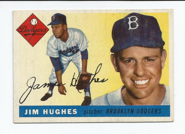 1955 Topps #51 Jim Hughes