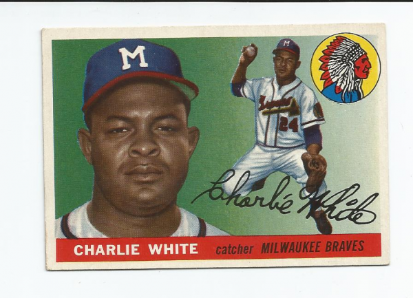 1955 Topps #103 Chuck White RC