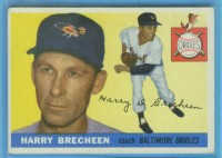 1955 Topps #113 Harry Brecheen CO front image
